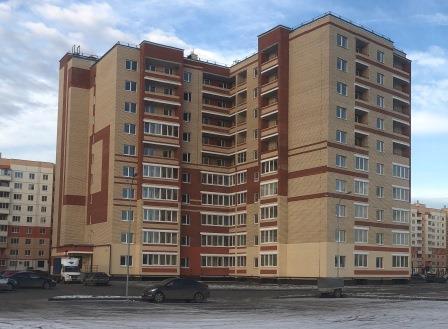 Жилой дом по ул. Космонавтов, 38. Завокзальный район (введен в эксплуатацию)