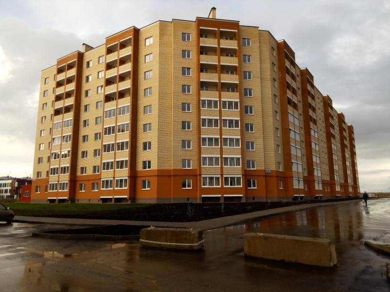 Жилой дом по ул. Я. Павлова  дом 7.  (введен в эксплуатацию)
