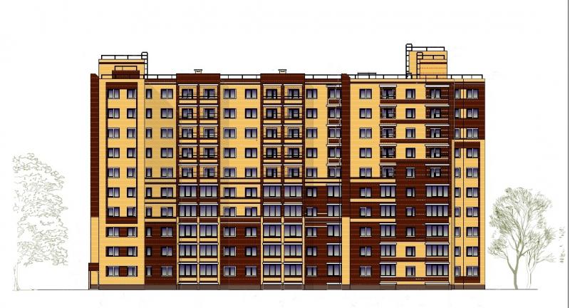 Жилой дом по ул. Космонавтов, 38. Завокзальный район