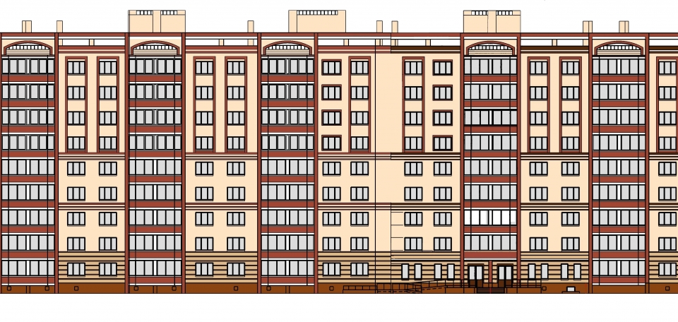 Остались 5 последних  2-х комнатных квартир в готовом жилом доме по ул. Хутынская, 29