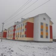 жилые дома по ул. Советской Армии, построенные по программе переселения из ветхого жилья